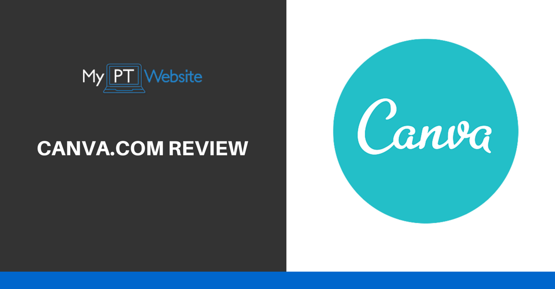 my personal trainer website canva review