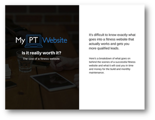 Cost of Fitness Website Download