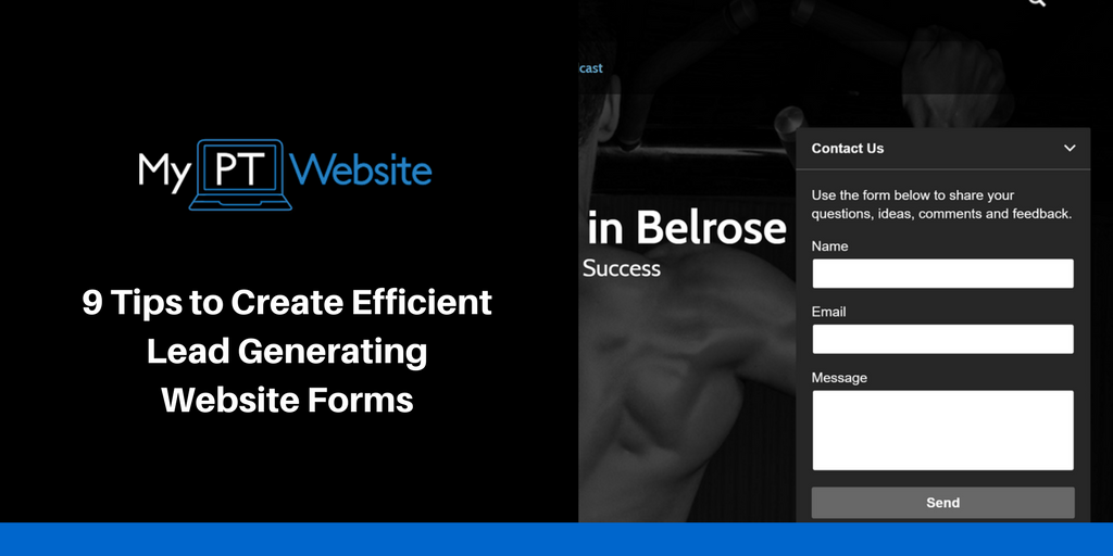How to Create Efficient Website Forms