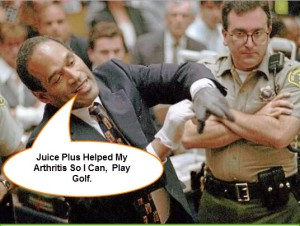 Juice Plus OJ Simpson