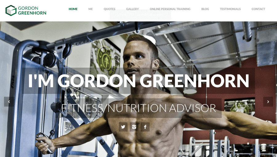 The 20 Best Personal Trainer Website Designs - My Personal Trainer