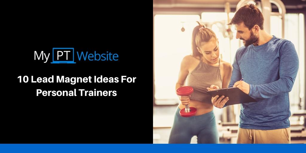 lead magnet ideas for personal trainers