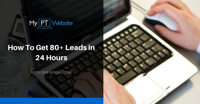 80+ leads in 24 hours