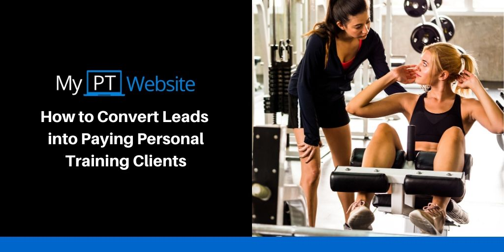 Convert Fitness Website Leads into Clients